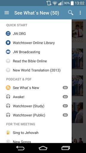 Download JW Podcast (english) for android 2 3 6