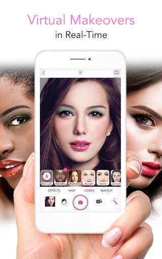 Screenshots of YouCam Makeup: Selfie Camera