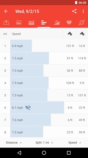 Runtastic Road Bike Tracker