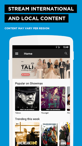 Download Showmax for android 4 2 2