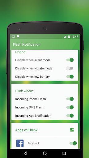 Download Flash Notification for android 8 1