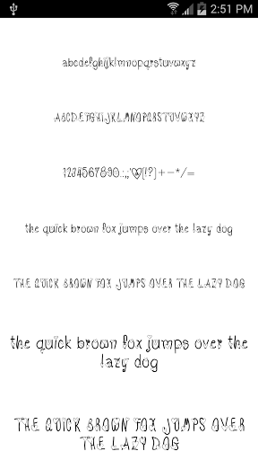Download Fonts for FlipFont #17 for android 8 1