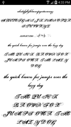 Download Fonts for FlipFont 50 11 for android 8 0